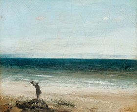 Gustave Courbet: Die Küste bei Palavas