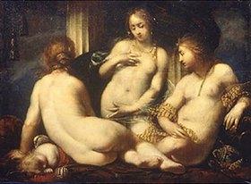 Sebastiano Mazzoni: Die drei Grazien (?)