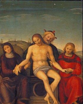 Perugino (Pietro Vanucci): Pieta. (Perugino - Atelier)