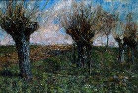 Christian Rohlfs: Landschaft mit Weiden