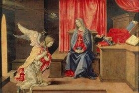 Filippino Lippi: Die Verkündigung Mariae. 1490-er Jahre