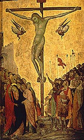 Ugolino Lorenzetti: Christus am Kreuz