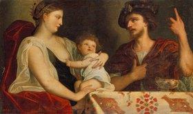 Padovanino (Alessandro Varotari): Eumenes und Roxane (Frau Alexander´s des Grossen)
