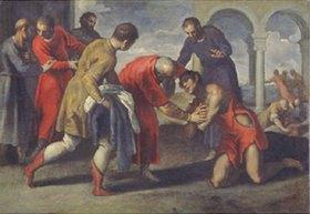 Palma il Giovane eigentlich Negretti Jacopo: Die Heimkehr des Verlorenen Sohnes. Nach
