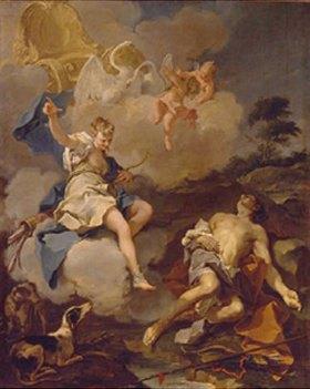 Giovanni Battista Pittoni: Diana und Endymion