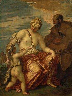 Sebastiano Ricci: Venus mit Amor und Vulkan