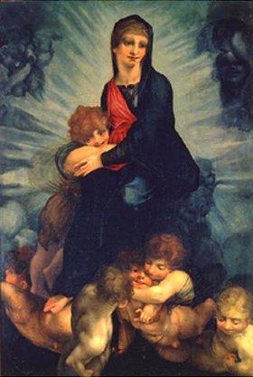 Rosso Fiorentino (Giovanni-Battista di Jacopo): Maria mit Kind und Putten
