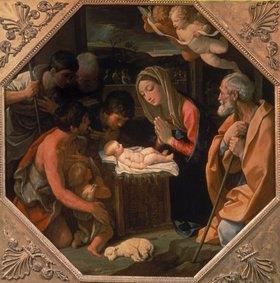 Guido Reni: Die Anbetung des Christkindes durch die Hirten