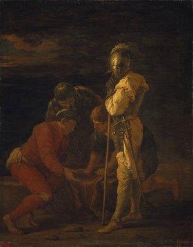 Salvator Rosa: Soldaten beim Würfelspiel