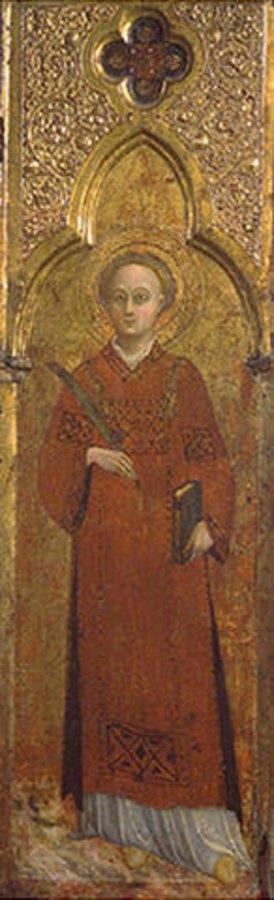 Sassetta (Stefano di Giovanni): Der Hl. Stephan