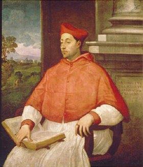 Sebastiano del Piombo: Bildnis des Kardinals Antonio Pallavicini