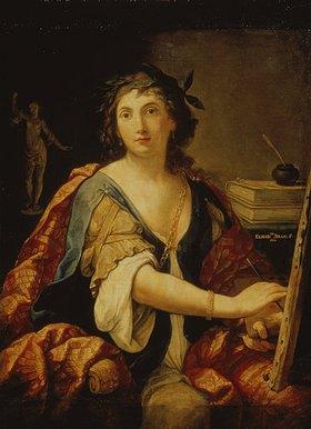 Elisabetta Sirani: Allegorie der Malerei (Selbstbildnis)