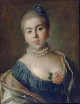 Pietro Antonio Rotari: Bildnis der Prinzessin A. Golitzina (1739-1816)