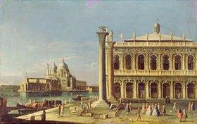 Francesco Tironi: Blick vom Markus-Platz in Venedig