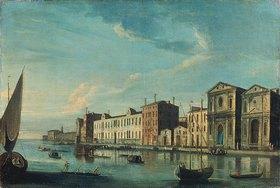 Francesco Tironi: Venedig, Blick auf Spirito Santo