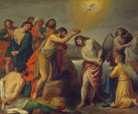 Alessandro Turchi: Die Taufe Christi