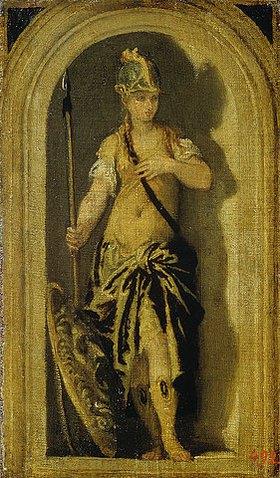 Paolo (Paolo Caliari) Veronese: Minerva