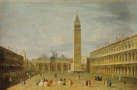 Francesco Tironi: Venedig, Piazza San Marco