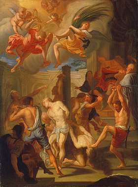 Francesco Trevisani: Martyrium von vier Heiligen