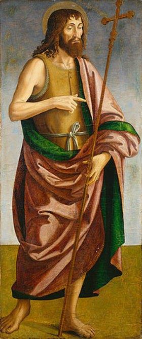 Antoniazzo Romano: Hl. Johannes der Täufer
