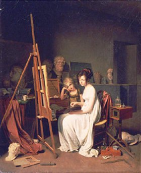 Louis-Léopold Boilly: Im Atelier des Malers