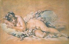 François Boucher: Schlafender weiblicher Akt
