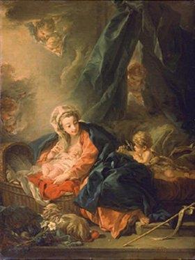 François Boucher: Maria mit dem Kind und dem Johannesknaben