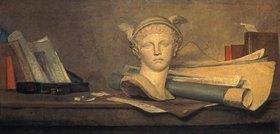 Jean-Baptiste Siméon Chardin: Stillleben mit Attributen der Kunst