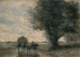 Jean-Baptiste Camille Corot: Der Heuwagen