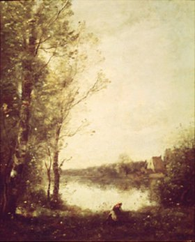 Jean-Baptiste Camille Corot: Teich in Ville D´Avray