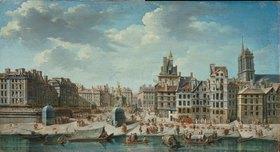 J.N Batiste: Paris, Handelsszenen an der Seine
