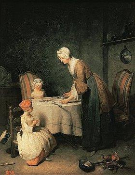 Jean-Baptiste Siméon Chardin: Das Tischgebet