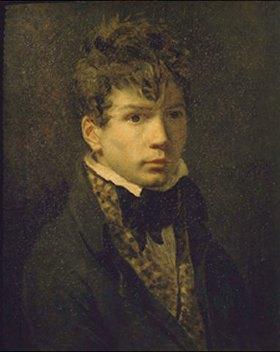 Jacques Louis David: Bildnis eines jungen Mannes (Ingres?). 1790-er Jahre