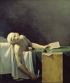 Jacques Louis David: Der tote Marat