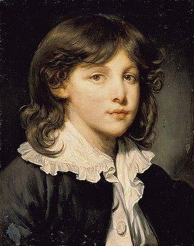 Französisch: Bildnis eines Knaben. (spätes 18. Jahrhundert)