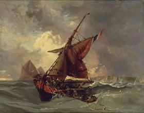 Eugene Delacroix: Segler in schwerer See