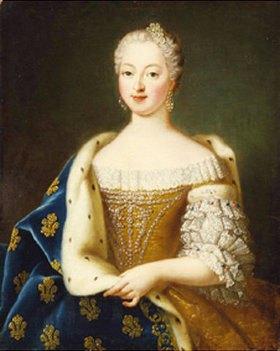 Französisch: Weibliches Bildnis (18. Jahrhundert)