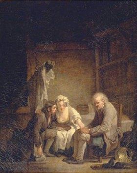 Jean Baptiste Greuze: Der betrogene blinde Mann
