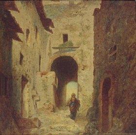Louis Gabriel Eugene Isabey: Das maurische Tor
