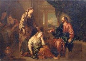 Charles de La Fosse: Christus im Hause von Maria und Martha