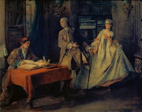Nicolas Lancret: Der Heiratsschwindler