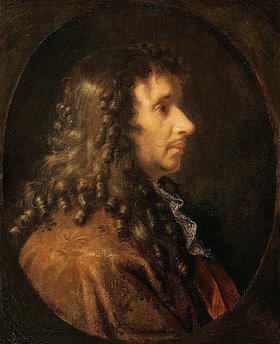 Charles Le Brun: Bildnis Moliere (1622-1673). 1660-er Jahre
