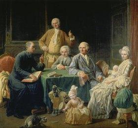 Nicolas Lépicié: Die Familie Leroy
