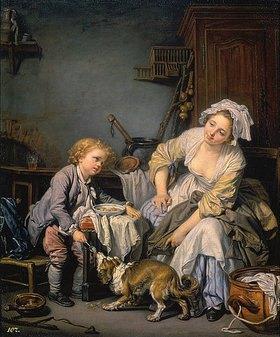 Jean Baptiste Greuze: Das verwöhnte Kind