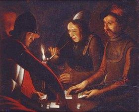 Georges de La Tour: Soldaten beim Kartenspiel