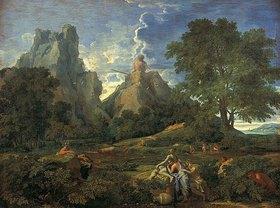 Nicolas Poussin: Landschaft mit dem Polyphem