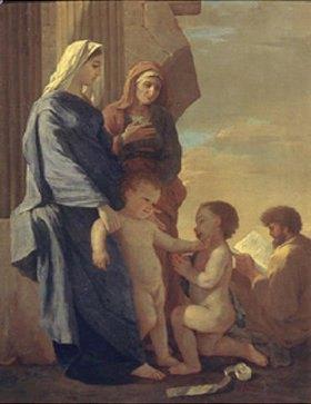 Nicolas Poussin: Die Heilige Familie