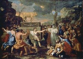Nicolas Poussin: Der Tanz um das Goldene Kalb