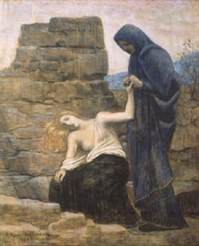 Pierre Puvis de Chavannes: Das Mitleid