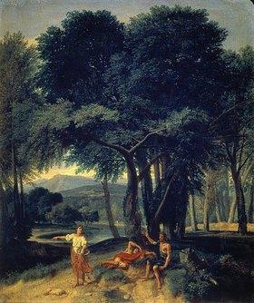 Jean-Francois I Millet: Rast im Wald